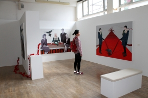 Out of sight out of mind; Master's Show DJCAD, 2013