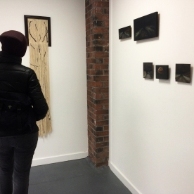 Woolgathering, Many Studios, Glasgow; exhibition together with Katie Eyre and Nicole Bennett 2017