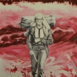 Apocalypse I, 2015, oil on paper, 56 x 42 cm