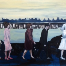Procession, 2015, oil on linen, 80x120 cm
