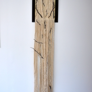 The human entanglement in nature's affairs, 2016, mixed media, 33x166 cm