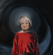 Interstellar, 2017, oil on linen, 44 x 42 cm