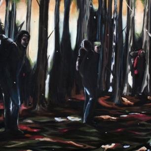 Expeditionen, 2018, olja på duk, 146 x 96 cm