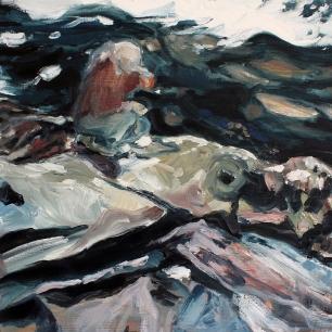 Kåsa, 2020, oil on linen, 40 x 50 cm