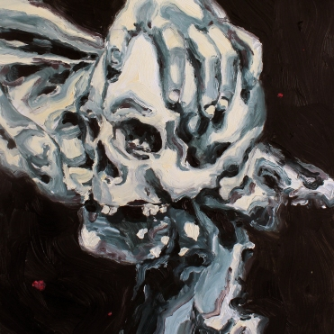 Memento, 2020, oil on MDF, 30 x 24 cm